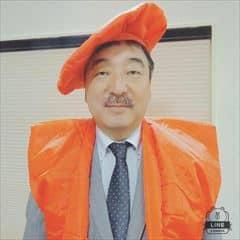 59才オレンジのちゃんちゃんこ_n_R