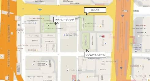 本町ショールーム3社
