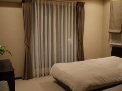 南西側の寝室